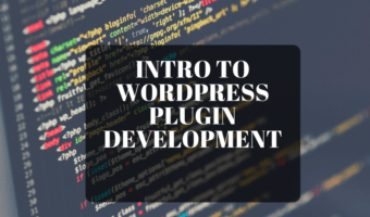 Intro to WordPress Plugin Development