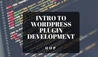 WordPress Plugin Development OOP