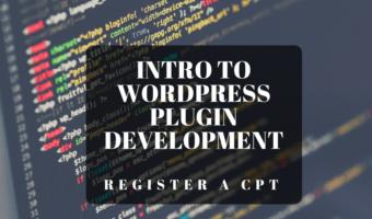 WordPress Plugin Register Custom Post Types