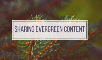 How frequent should evergreen blog posts get shared