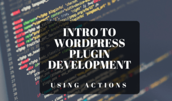 WordPress Plugin Using Actions