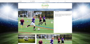 Add a background image in WordPress for a sports blog