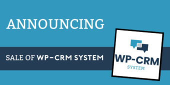 WP-CRM System Acquired by Mario Peshev